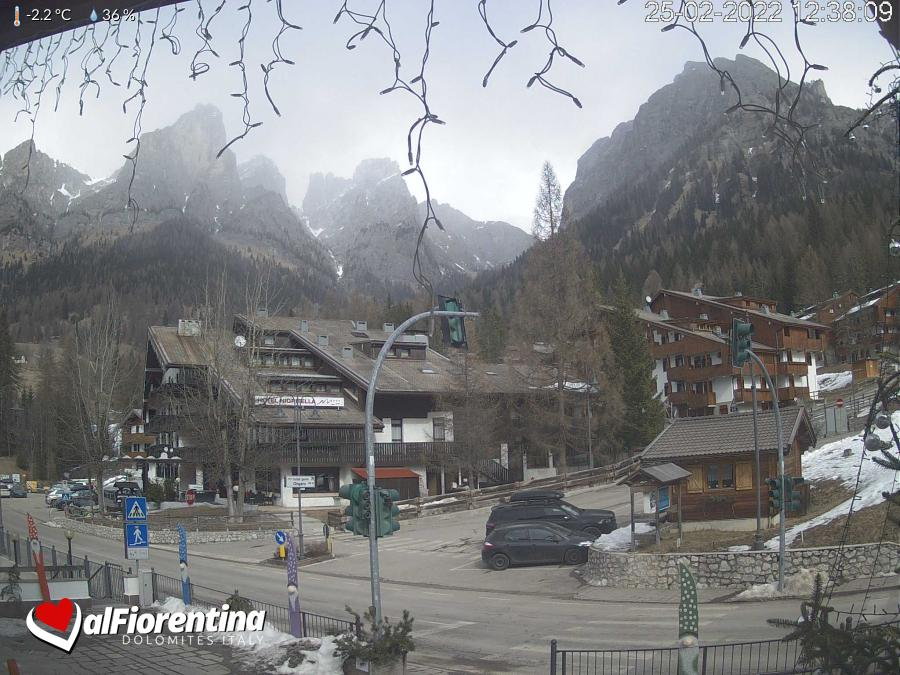 Webcam Bar Bianco - civetta dolomiti