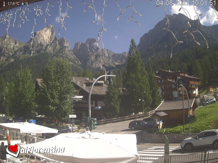 Webcam Vertical Ski Racing Santa Fosca - civetta dolomiti