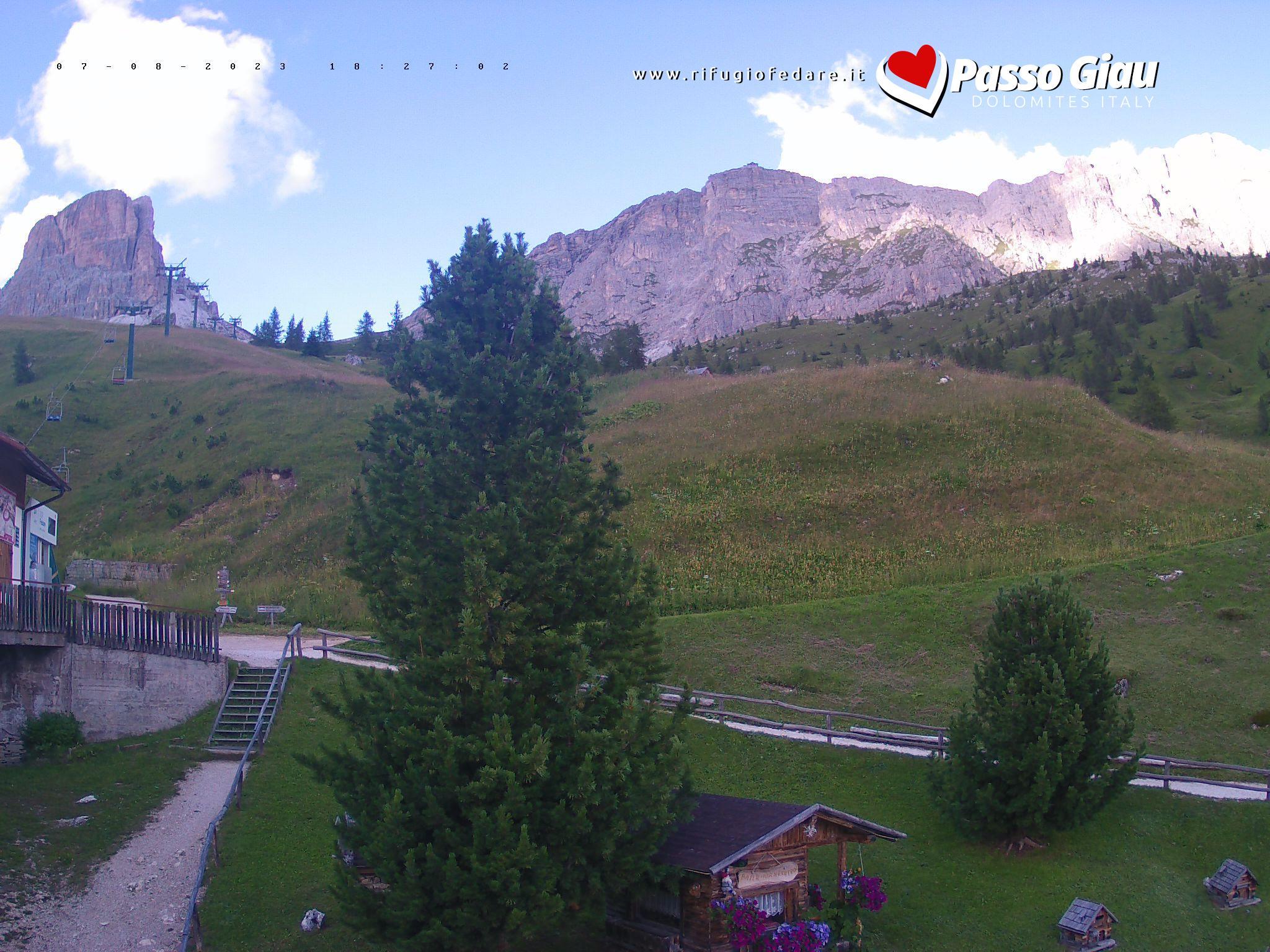 Passo Giau – Averau – Rifugio Fedare webcam