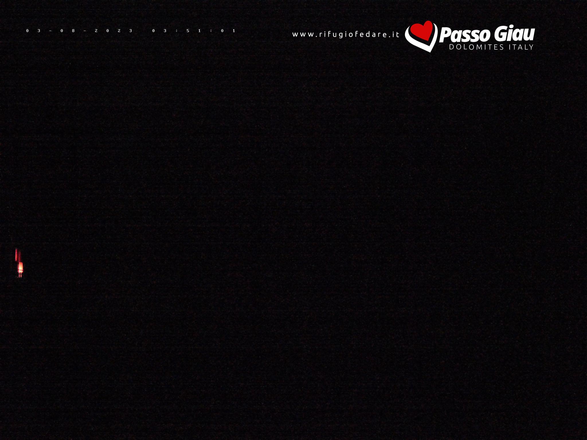 Rifugio Fedare | Vista verso seggiovia Nuvolau e Mt. Averau