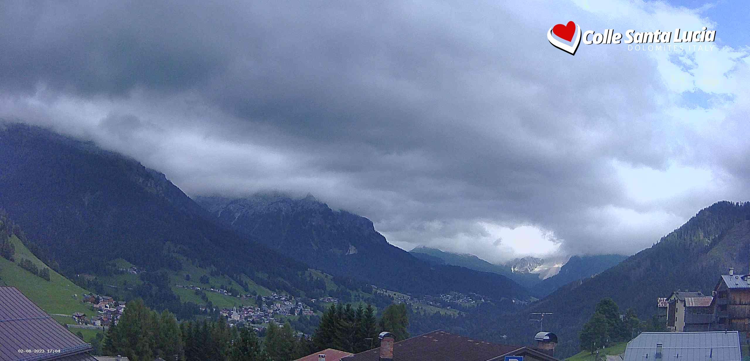 Webcam Val Fiorentina da Colle Santa Lucia, Ski Civetta, Dolomiti Superski
